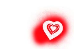 Valentinsgrußinnere Stockfoto