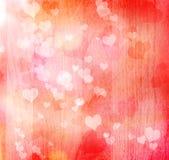 Valentinsgrußinnerhintergrund lizenzfreie abbildung