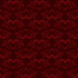 Valentinsgrußinnermuster Lizenzfreies Stockbild
