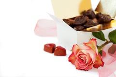 Valentinsgrußinstallation Stockfotos
