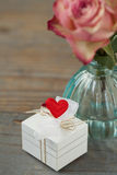 Valentinsgrußinstallation Lizenzfreie Stockfotografie