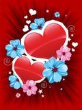 Valentinsgrußkarte Lizenzfreie Stockfotografie