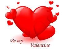 Valentinsgrußkarte Lizenzfreie Stockbilder