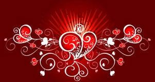 Valentinsgrußkarte Stockbild