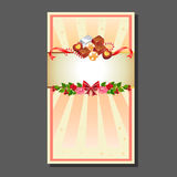 Valentinsgrußkartenschokolade Lizenzfreie Stockfotos