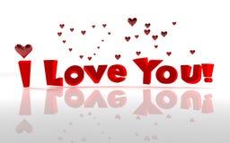 Valentinsgrußliebe Stockfoto