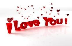 Valentinsgrußliebe Lizenzfreies Stockbild