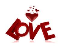 Valentinsgrußliebe Lizenzfreies Stockfoto