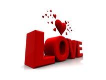 Valentinsgrußliebe lizenzfreie abbildung