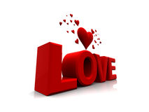 Valentinsgrußliebe Stockbilder