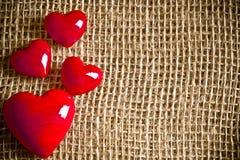 Valentinsgrußliebe Stockbild
