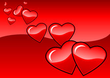 Valentinsgrußpaare Stockbild