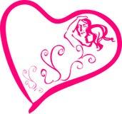 Valentinsgrußpaare Stockfoto