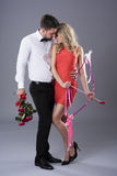 Valentinsgrußpaare Stockfotografie