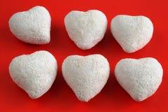 Valentinsgrußpostkarte Lizenzfreies Stockbild