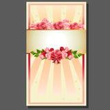 Valentinsgrußrosenkranz Lizenzfreie Stockbilder