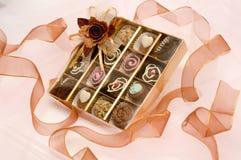 Valentinsgrußschokolade Stockfotografie