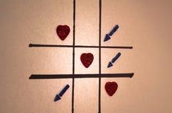 Valentinsgrußspiel Lizenzfreie Stockbilder