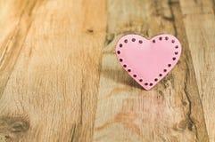 Valentinsgrußtag mit rosa Herzen Lizenzfreie Stockbilder