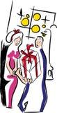 Valentinsgrußtagesgeschenkbox Lizenzfreies Stockbild
