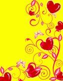 Valentinsgrußtageshintergrund Stockfotos