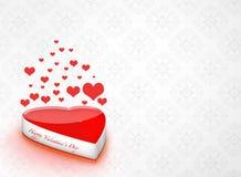 Valentinsgrußtageshintergrund lizenzfreie stockbilder