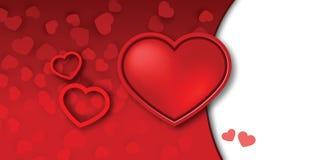 Valentinsgrußtageshintergrund Lizenzfreie Stockfotografie