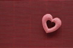Valentinsgrußtageshintergrund mit Innerem Stockfotos