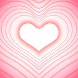 Valentinsgrußtageshintergrund mit Inneren stockfotos
