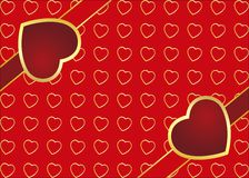 Valentinsgrußtageskarte Stockfotografie