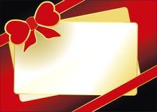 Valentinsgrußtageskarte Lizenzfreies Stockfoto