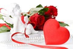 Valentinsgrußtageskarte. Stockbilder