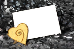 Valentinsgrußtagesliebeskarte Stockbilder