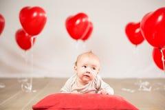 Valentinsgrußtagesporträt Lizenzfreie Stockbilder