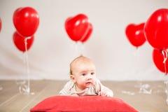 Valentinsgrußtagesporträt Stockfoto