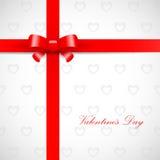 Valentinsgrußtagkarte Lizenzfreie Stockfotografie
