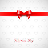 Valentinsgrußtagkarte Stockfotografie