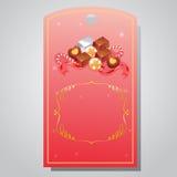 Valentinsgrußtagschokolade Lizenzfreie Stockfotos