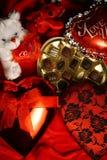 Valentinsgruß-Geschenke Stockfotos