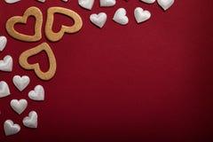 Valentinsgrußhintergrund Lizenzfreie Stockbilder