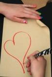 Valentinstag Stockfoto