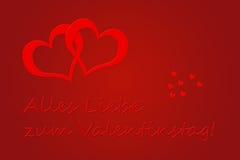 Valentinstag vektor illustrationer