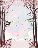 Valentinstag stock abbildung