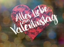 Valentinstag stock illustrationer