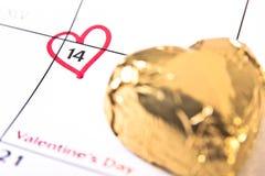 Valentinstag-Anzeige Stockfoto