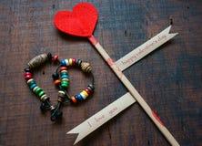 Valentinstag, am 14. Februar Lizenzfreies Stockbild