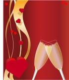Valentinstag-Feier lizenzfreie abbildung