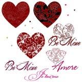 Valentinstag-Grafiken Lizenzfreie Stockfotos