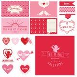 Valentinstag-Herzen Lizenzfreie Stockfotografie