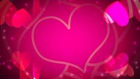 Valentinstag-Herzen der Liebe vektor abbildung